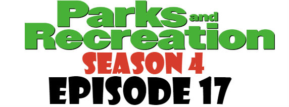 Parks and Recreation Season 4 Episode 17 TV Series